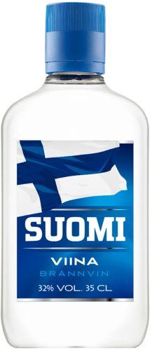 [kuva: Suomi Viina muovipullo(© Alko)]