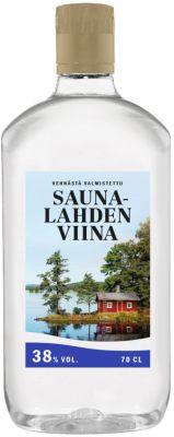 [kuva: Saunalahden Viina muovipullo(© Alko)]