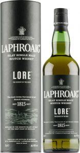 [kuva: Laphroaig Lore Single Malt(© Alko)]