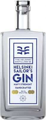 [kuva: Helsinki Distilling Company Sailor's Gin(© Alko)]
