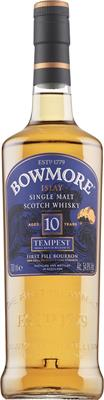 [kuva: Bowmore Tempest VI 10 Years Old Single Malt(© Alko)]