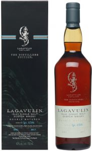 [kuva: Lagavulin Distillers Edition 2017 Single Malt(© Alko)]