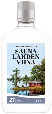 [kuva: Saunalahden Viina 27 % muovipullo(© Alko)]