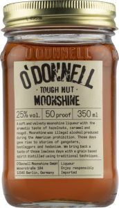 [kuva: O'Donnell Tough Nut Moonshine(© Alko)]