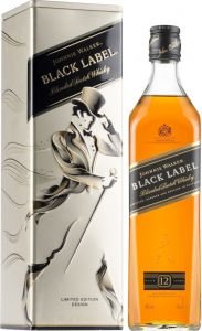 [kuva: Johnnie Walker Black Label 12 Years Old lahjapakkaus(© Alko)]