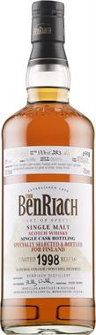 [kuva: The BenRiach Single Cask 1998 Virgin American Oak Finish Single Malt(© Alko)]