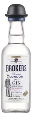 [kuva: Broker's London Dry Gin(© Alko)]