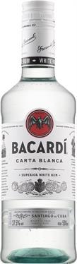 [kuva: Bacardi Carta Blanca muovipullo(© Alko)]