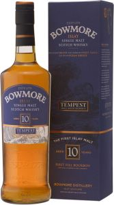 [kuva: Bowmore Tempest Small Batch Release V 10 Year Old Singe Malt(© Alko)]