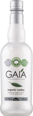 [kuva: Gaía Organic Vodka muovipullo(© Alko)]
