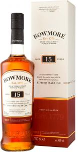 [kuva: Bowmore Darkest 15 Year Old Single Malt(© Alko)]