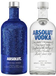 [kuva: Absolut Vodka lahjapakkaus(© Alko)]