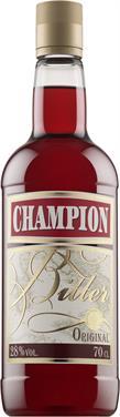 [kuva: Champion muovipullo(© Alko)]