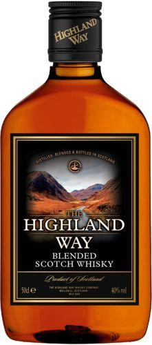 [kuva: The Highland Way muovipullo(© Alko)]