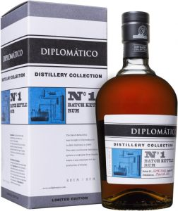 [kuva: Diplomático Distillery Collection No 1 Batch Kettle Rum(© Alko)]