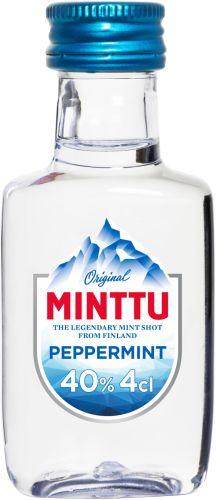 [kuva: Minttu Peppermint muovipullo(© Alko)]