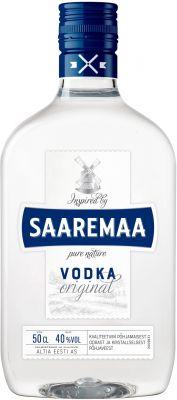 [kuva: Saaremaa Vodka muovipullo(© Alko)]