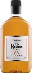 [kuva: Hienoa Cognac VS muovipullo(© Alko)]