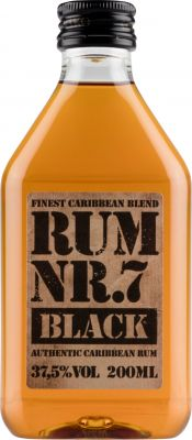 [kuva: Rum Nr. 7 Black muovipullo(© Alko)]