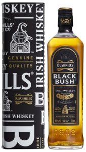 [kuva: Bushmills Black Bush lahjapakkaus(© Alko)]