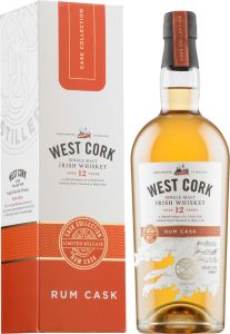 [kuva: West Cork Rum Cask Finish 12 Year Old Single Malt(© Alko)]