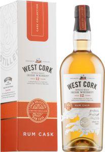 [kuva: West Cork Rum Cask Finish 12 Year Old Single Malt(© Alko)]