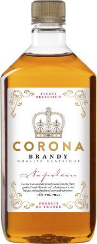 [kuva: Corona Finest Napoleon muovipullo(© Alko)]