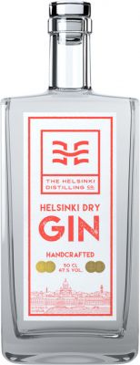 [kuva: The Helsinki Distilling Dry Gin(© Alko)]
