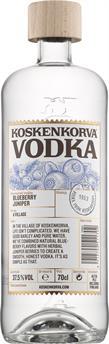 [kuva: Koskenkorva Vodka Blueberry Juniper(© Alko)]
