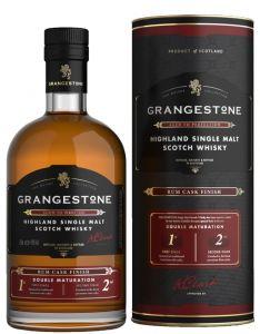 [kuva: The Grangestone Highland Rum Cask Finish Single Malt(© Alko)]