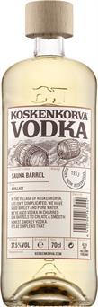 [kuva: Koskenkorva Vodka Sauna Barrel(© Alko)]