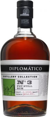 [kuva: Diplomático Distillery Collection No 3 Pot Still Rum(© Alko)]