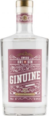[kuva: Ginuine Swiss Gin Strawberry(© Alko)]