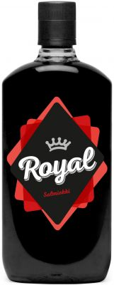 [kuva: Royal Salmiakki Snapsi muovipullo(© Alko)]