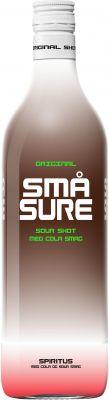 [kuva: Små Sure Sour Shot Cola muovipullo(© Alko)]