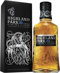 [kuva: Highland Park Viking Scars 10 Year Old Single Malt(© Alko)]