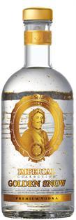 [kuva: Imperial Golden Snow Vodka(© Alko)]
