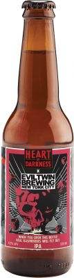 [kuva: Heart Of Darkness When You Open This Bottle Real Raspberries Will Fly Out IPA(© Alko)]