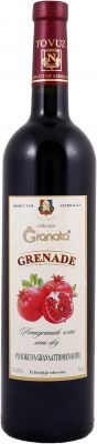 [kuva: Grenade Wine Semi-Dry Puolikuiva Granaattiomenaviini(© Alko)]