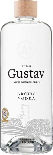 [kuva: Gustav Arctic Vodka(© Alko)]