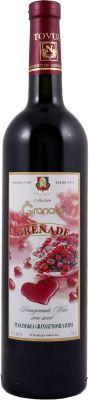 [kuva: Grenade Wine Semi Sweet Puolimakea Granaattiomenaviini(© Alko)]