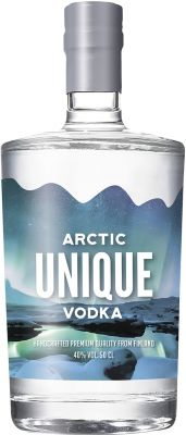 [kuva: Arctic Unique Vodka(© Alko)]