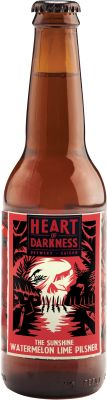 [kuva: Heart Of Darkness The Sunshine Watermelon Lime Pilsner(© Alko)]