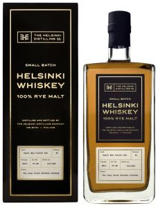 [kuva: Helsinki Distilling Company 100 % Rye Malt(© Alko)]
