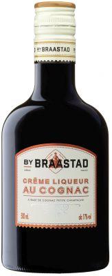 [kuva: Braastad Crême Liqueur au Cognac muovipullo(© Alko)]