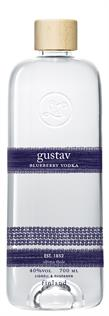 [kuva: Gustav Blueberry Vodka(© Alko)]