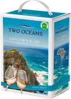 [kuva: Two Oceans Sauvignon Blanc 2019 hanapakkaus]