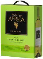 [kuva: Foot of Africa Reserve Chenin Blanc 2018 hanapakkaus]