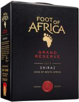 [kuva: Foot of Africa Reserve Shiraz 2018 hanapakkaus]