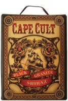 [kuva: Cape Cult Black Granite Shiraz 2013 hanapakkaus]